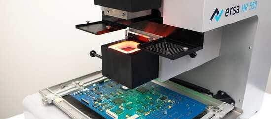 HR 550 Visionbox zur Bauteilausrichtung