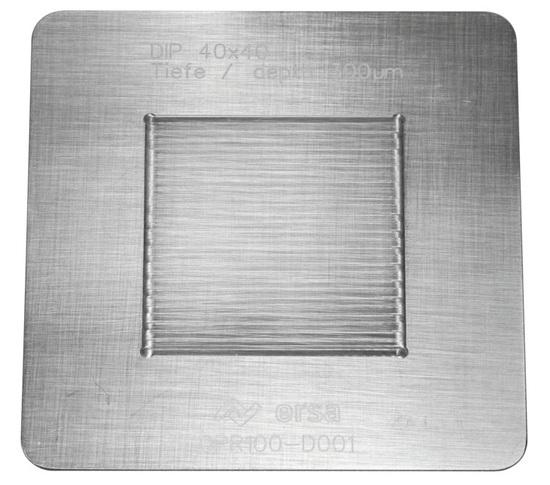 Bild von DIP SCHABLONE 40 x 40/0,3mm