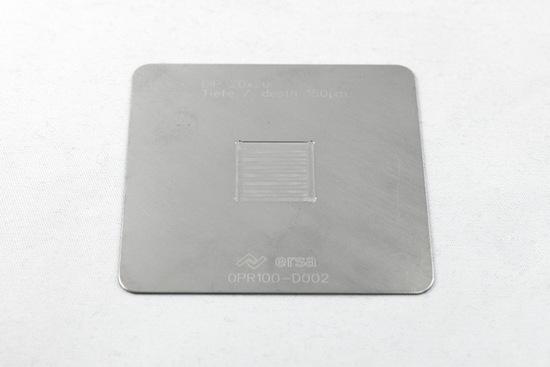 Bild von DIP SCHABLONE 20 x 20/0,15mm