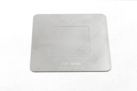Bild von DIP SCHABLONE 40 X 40/0,1mm