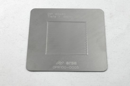 Bild von DIP SCHABLONE 40 X 40/0,15mm