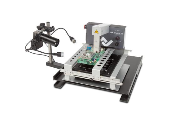 HR200 mit Heizplatte und der Option Reflowprozesskamera