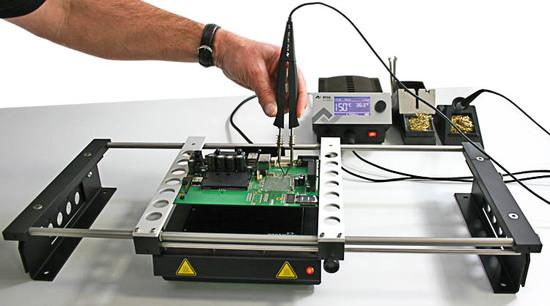 ERSA-Heizplatte mit Chip TOOL-Anwendung