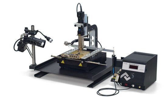 RPC-Kamera mit Rework-System HR100
