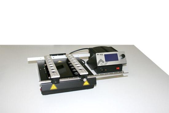 ERSA-Heizplatte mit Leiterplattenaufsatz